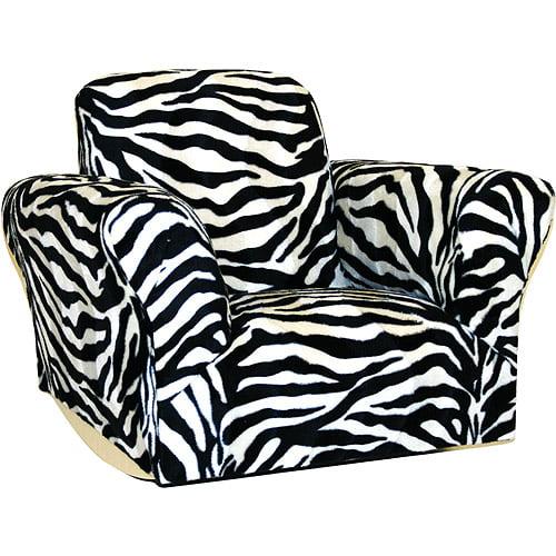 Kids Rocking Chair, Zebra