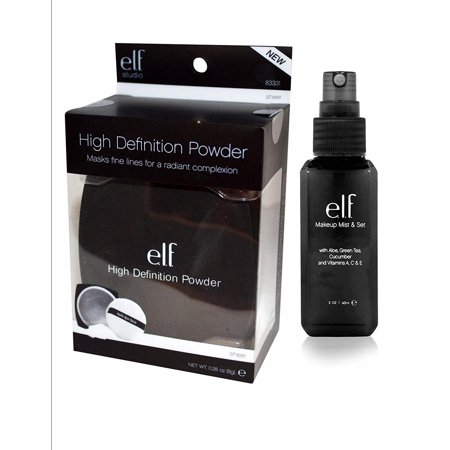elf Studio High Definition Loose Face Powder with e.l.f. Makeup Mist and Set,.., By e.l.f. Cosmetics
