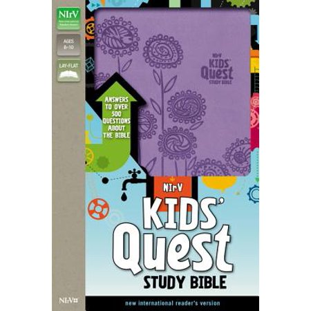 Kids' Quest Study Bible-NIRV : Answers to Over 500 Questions about the