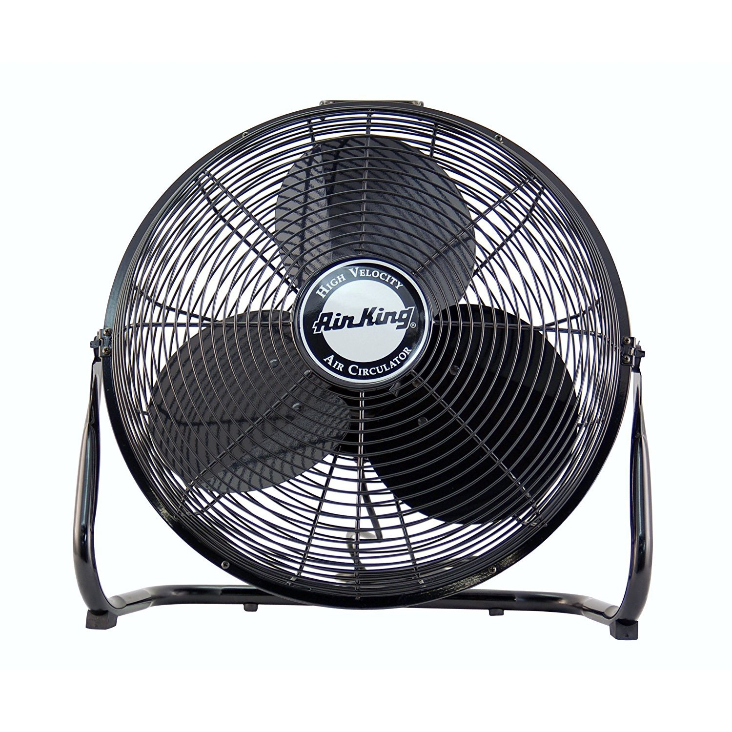 Image of Air King 3 Speed 1/20 HP 120 Volt 14 Inch Enclosed Pivoting Floor Fan 9214