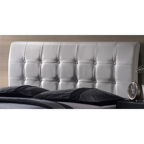 Lusso Headboard King, White