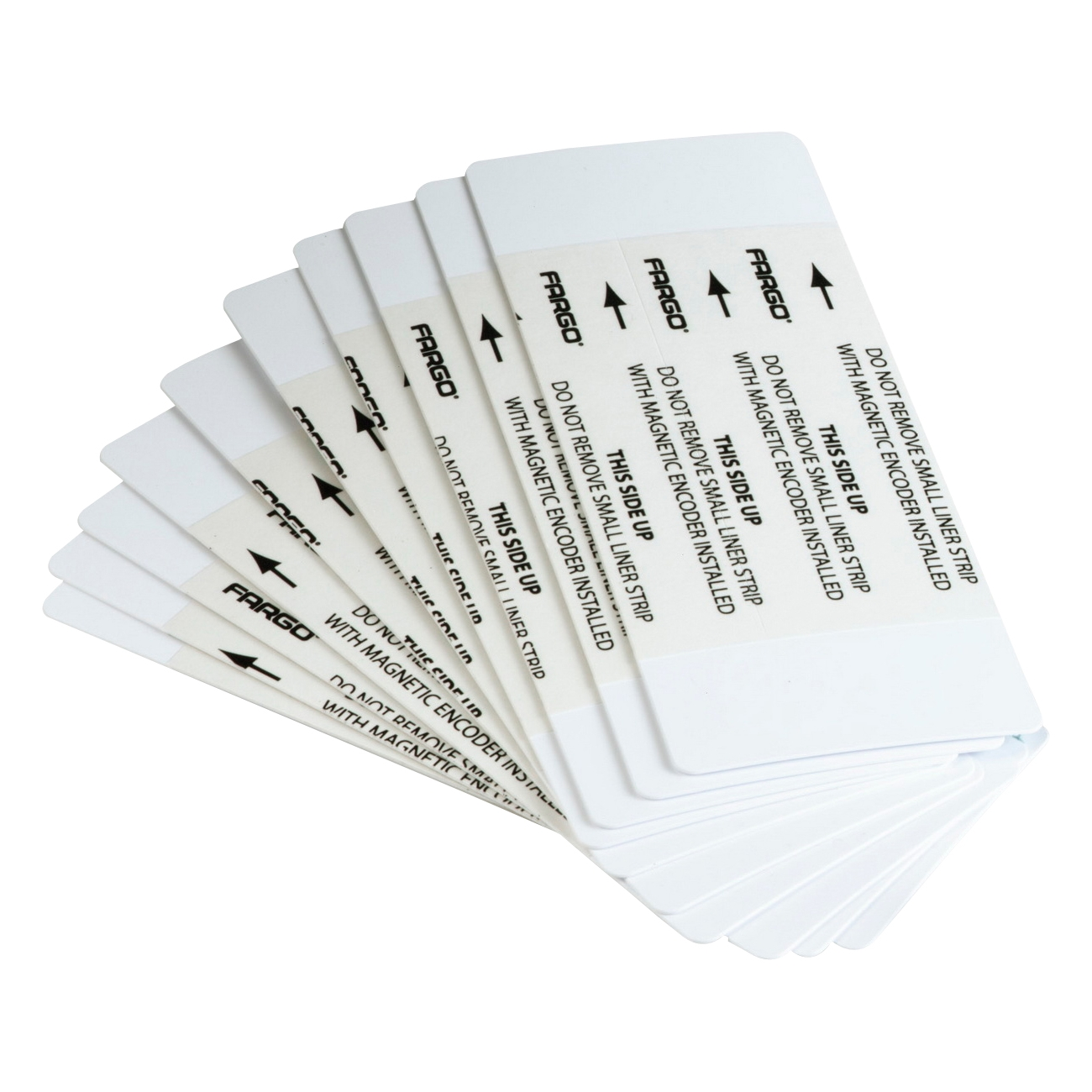 HID Cleaning Card - For Printer - Dual Sided - 50 / Pack