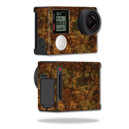 MightySkins Skin Compatible With GoPro Hero4 Black Edition – River Stones | Protective, Durable, and Unique Vinyl Decal wrap cover | Easy To Apply, Remove, and Change Styles | Made in the USA ()