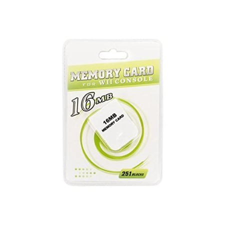 NEW 16MB Memory Card for Wii (Console GameCube)