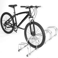 OTVIAP 5 Racks Steel Bicycle Floor Parking Stand Storage Rack Holder, Bike Floor Parking Rack, Bicycle Parking Rack