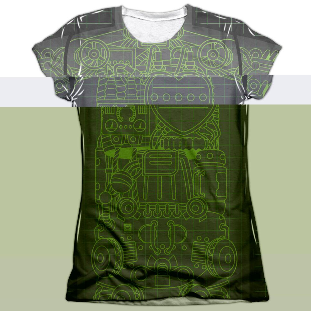 Astro Boy X Ray Juniors Sublimation Shirt