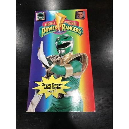 Mighty Morphin Power Rangers - Green Ranger Mini-Series Part 1 ~ VHS Video (Mighty Morphin Power Rangers The Mutiny Part 2)