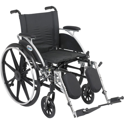 Drive Medical Viper Wheelchair in Black