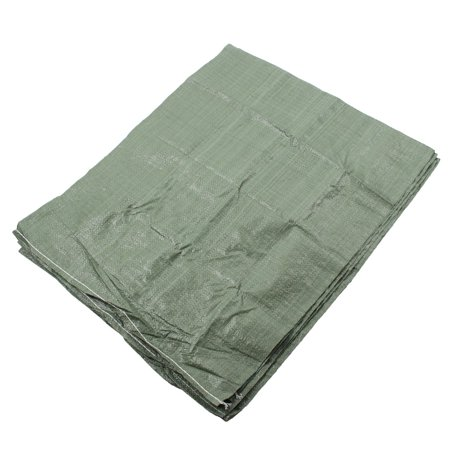 Plastic Courier Cargo Express Packing Snakeskin Bag Green 60 X 80Cm 5 Pcs