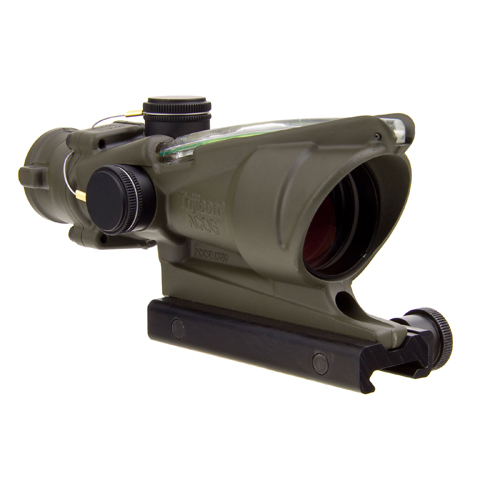 Click here to buy Trijicon ACOG 4x32 Green Chevron ODG TA31-D-100312 by Trijicon.