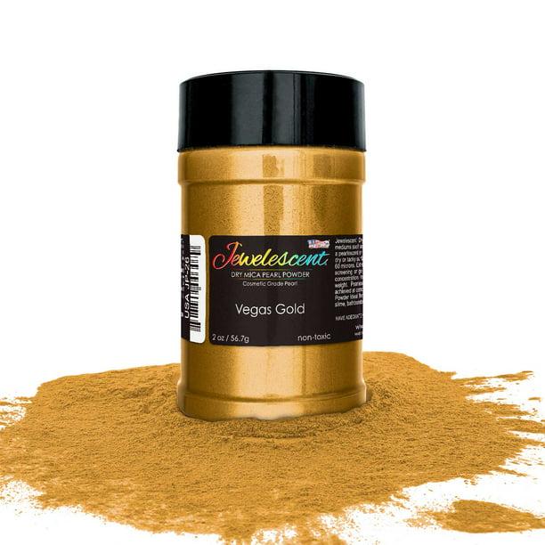 U S Art Supply Jewelescent Vegas Gold Mica Pearl Powder Pigment 2 Oz 57g Bottle Non Toxic Metallic Color Dye Walmart Com Walmart Com