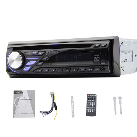 One Din Headunit Car Dvd Player Cd Player Universal Usb Sd Fm Transimitter Detachable Panel Car 1 Din Cd Player Car Stereo