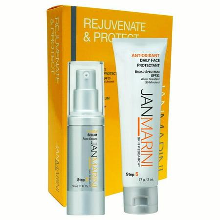 jan marini skin research rejuvenate and protect w/ antioxidant dfp spf 33 (Rejuvenating Antioxidant Serum)
