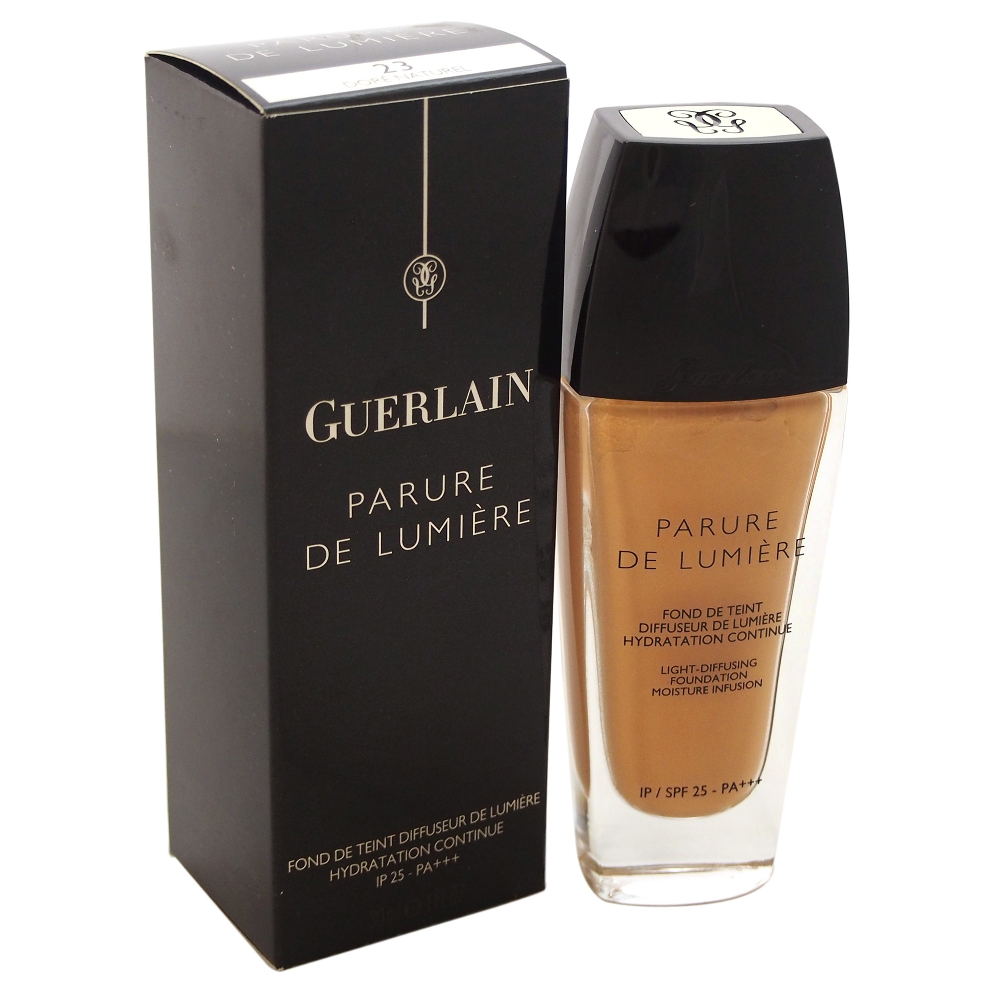 Guerlain Parure De Lumiere Light Diffusing Foundation SPF 25, #23 Dore Naturel, 1 Oz