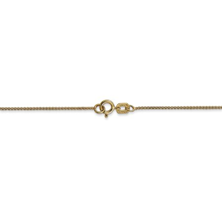 14K Yellow Gold 0.80mm Spiga Pendant Chain 20 Inch - image 1 de 5