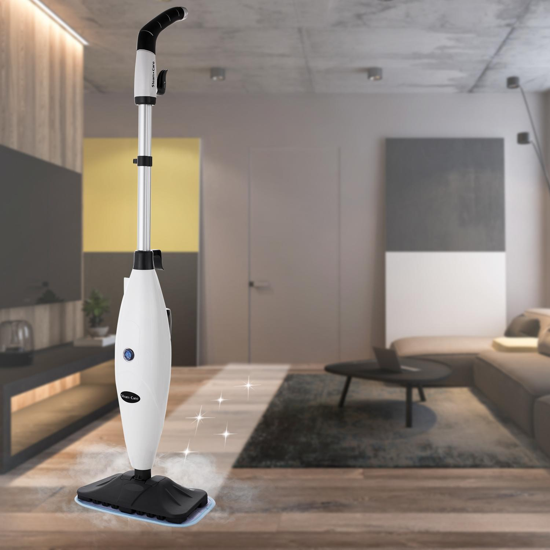 Handheld Electric Steam Mop, Steam Cleaner Multi-functional Steamer Steam Cleaner Handheld... by
