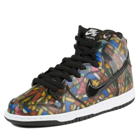 Nike Mens x Concepts Dunk Hi Pro SB