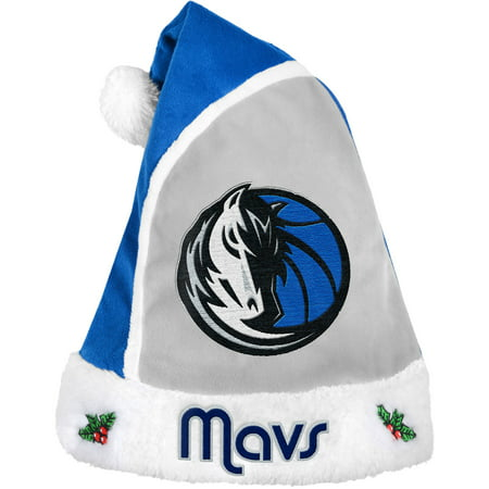 Forever Collectibles NBA 2015 Santa Hat, Dallas Mavericks