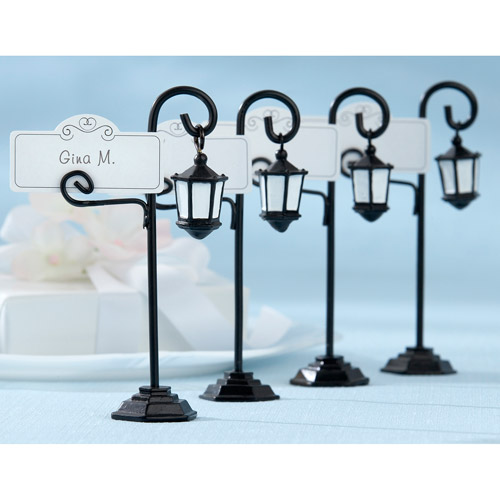 Bourbon Street Streetlight Place Card Holder