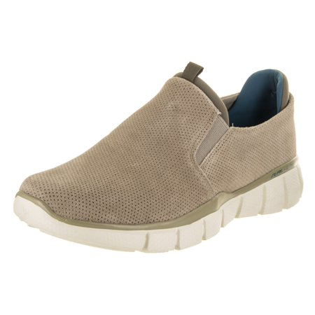 Skechers Men's Equalizer 2.0 - Lodini Taupe Casual Shoe 8 Men (Skechers Mens Equalizer 2-0 Settle The Score)