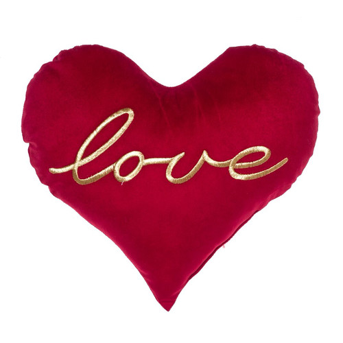 Image of 14 Karat Home Inc. All You Need Is Love Heart Throw Pillow