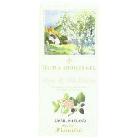 Speziali Fiorentini Bath/Shower Gel, Rose and Blackberry, 8.4 Ounce