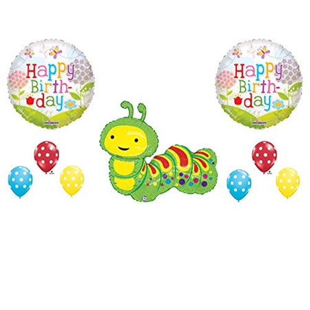HUNGRY CATERPILLAR Birthday Party Balloons Decoration Supplies Very Butterfly - Very Hungry Caterpillar Party Decorations