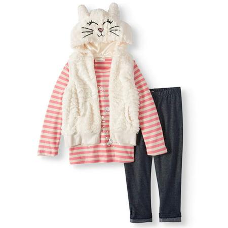 8d5ca17e9 Forever Me - Kitty 3D Faux Fur Vest