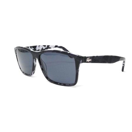 99db8fdfe78 Lacoste - LACOSTE Polarized Sunglasses L705SP 002 Black Rectangle 57x13x140  - Walmart.com