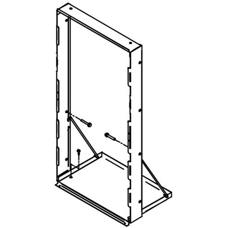 Elkay MFWS100 Accessory, Mounting Frame, Galvanized Steel