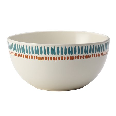52676 Cucina Sun Daisy Stoneware Cereal Bowl 5 1 2 Brown
