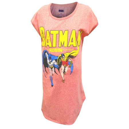 Dc Comics Classic Batman And Robin Nightshirt
