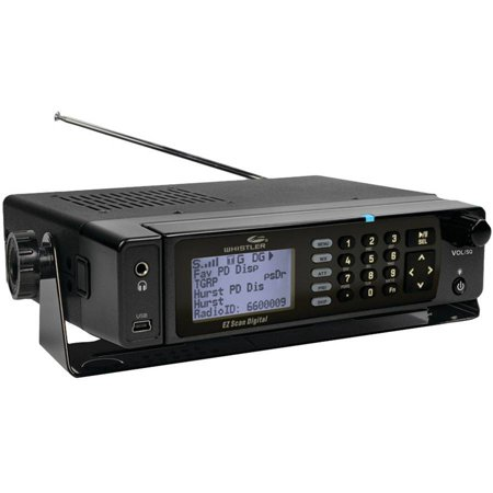 Whistler WS1098 Digital Desktop Mobile Radio Scanner by