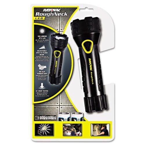 Rayovac LED Comfort Grip Flashlight, Black