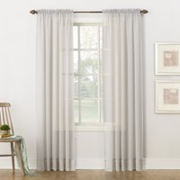 No. 918 Juliette Voile Sheer Rod Pocket Curtain Panel