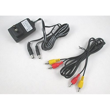 Original NES Hookup Connection Kit AC Adapter Power Cord AV Cable Vintage Wall Charger For Nintendo NES