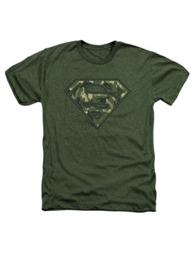 c4db83afb Product Image Superman/Super Camo Adult Heather Military Green Sm1871
