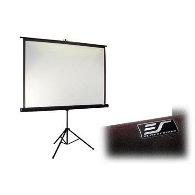Elite Screens - T99UWS1-PRO - Elite Screens T99UWS1-Pro Tripod Pro Portable Tripod Manual Pull Up Projection Screen (99