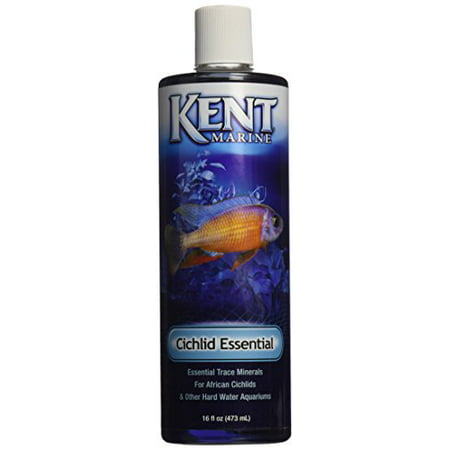 Kent Marine Akmate16 African Cichlid Trace Elements For Aquarium 16-Ounce (Pack of 1)