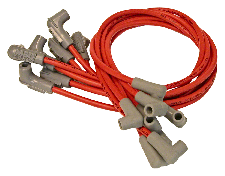 Msd Ignition 30829 Custom Spark Plug Wire Set Wiring