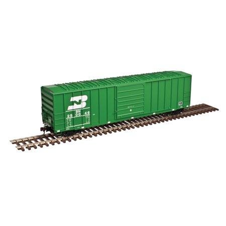 Atlas N Scale FMC 5077 50' Boxcar Burlington Northern/BN #249976 (Cascade Green)