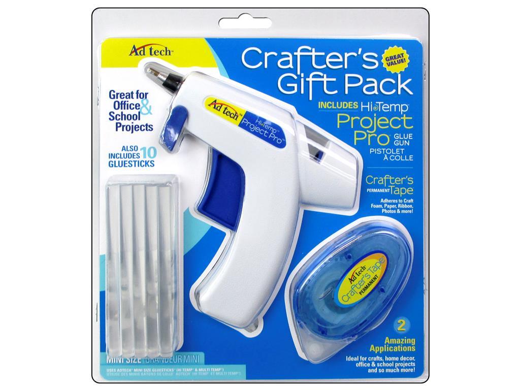 Ad Tech Glue Gun High Temp Mini Crafter's Gift Pk by Adhesive Technologies, Inc