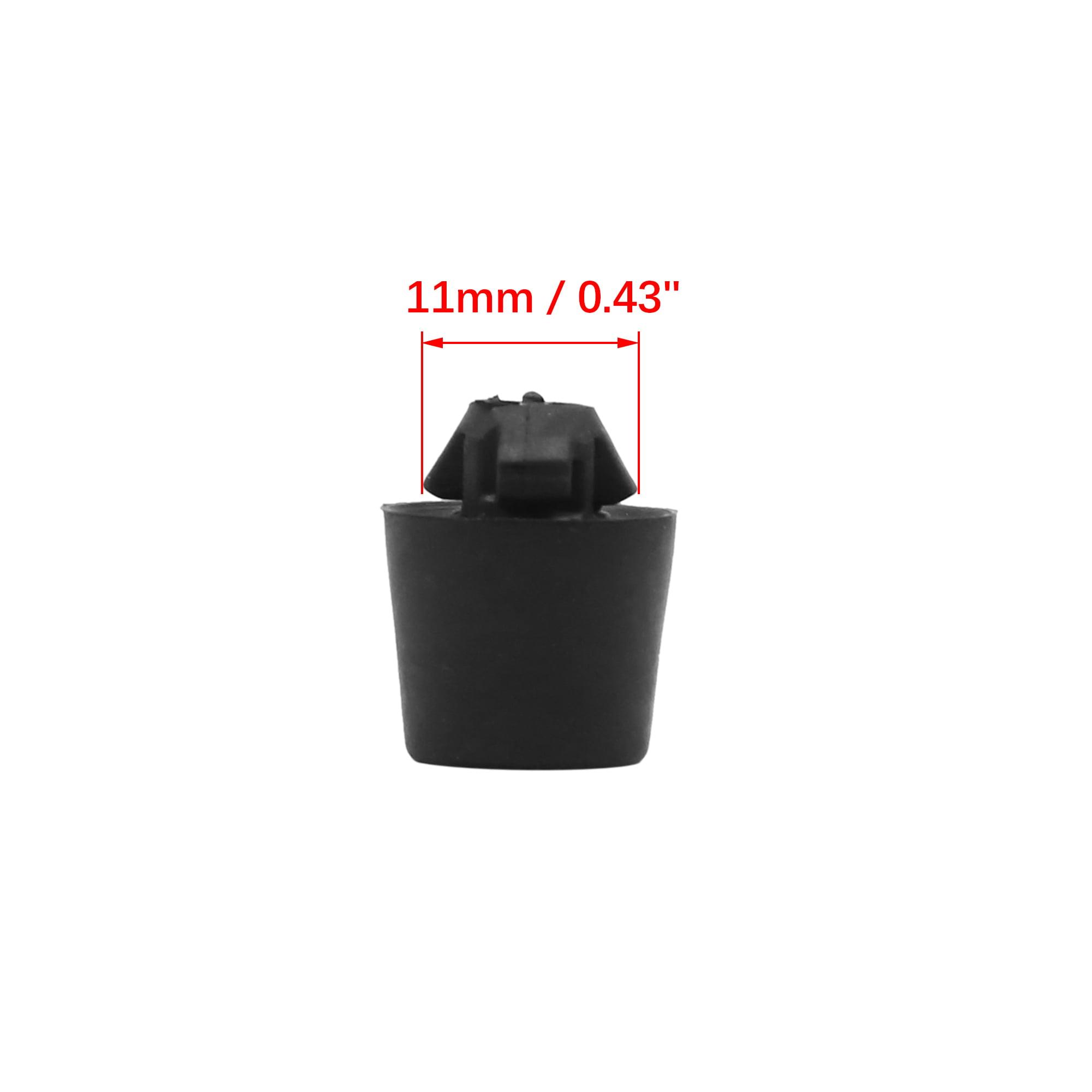 2pcs 16.2 x 20mm Buffer Mount Rubber Block Absorber for Car Door Trunk Hood
