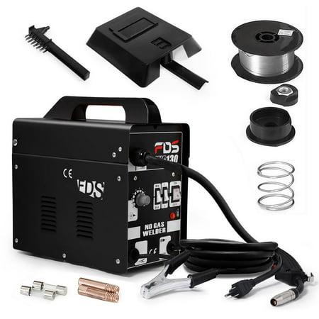 Manual Wire Binding Machine - MIG 130 Welder Flux Core Wire Automatic Feed Welding Machine w/ Free Mask