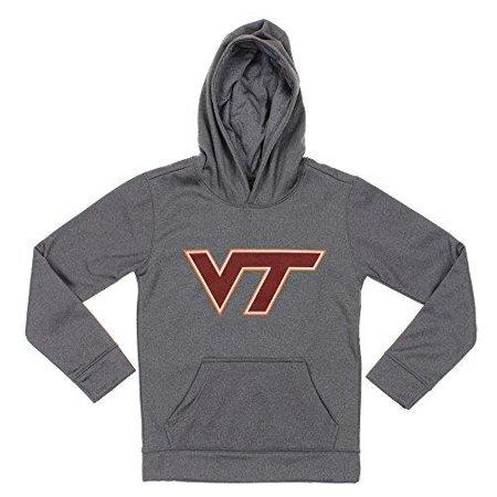 NCAA Youth Virginia Tech Hokies Pullover Grey Hoodie