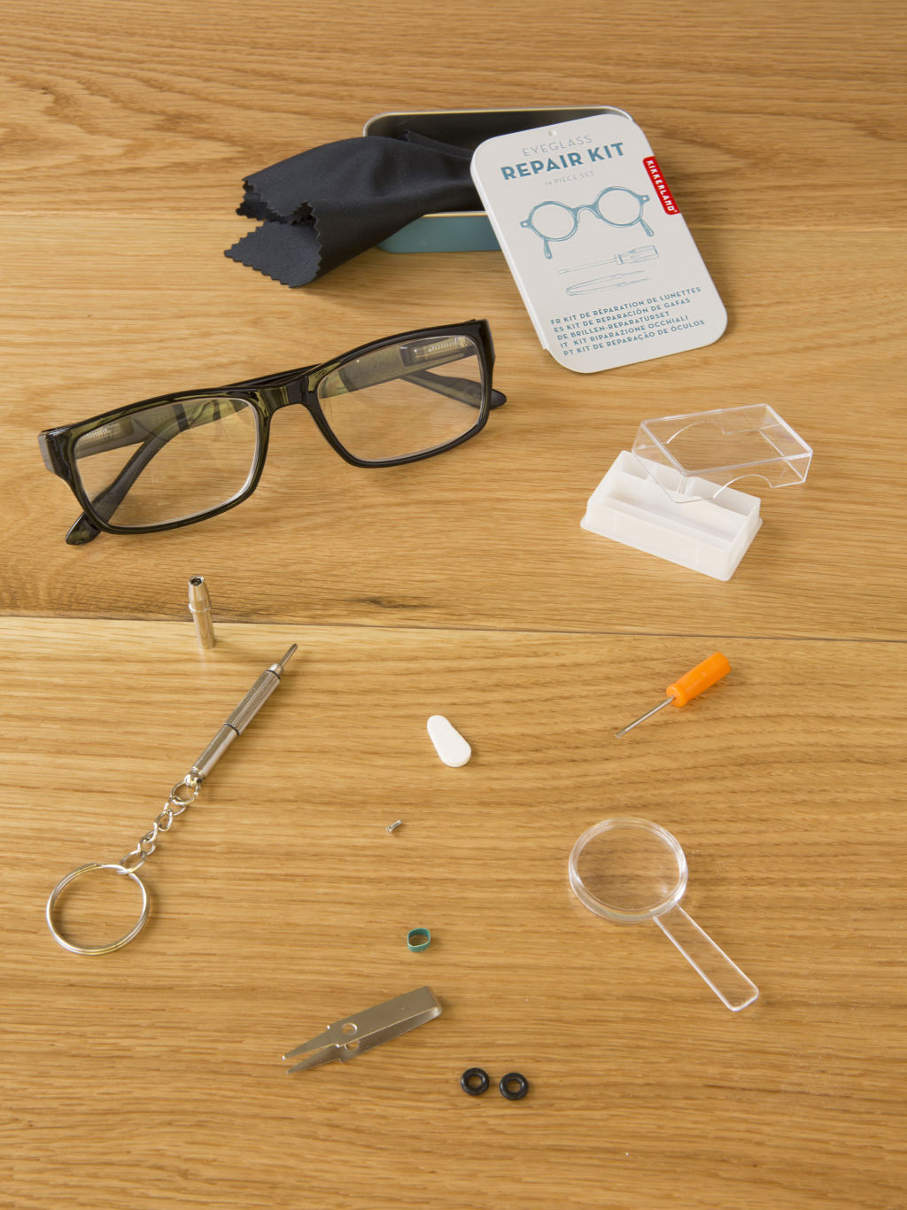 Kikkerland Design 247592 Eyeglass Repair Kit Walmart Com Walmart Com