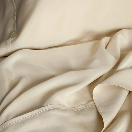 Luxury Linens Inc Elle & Alix Sand Washed Silk Sheet Set
