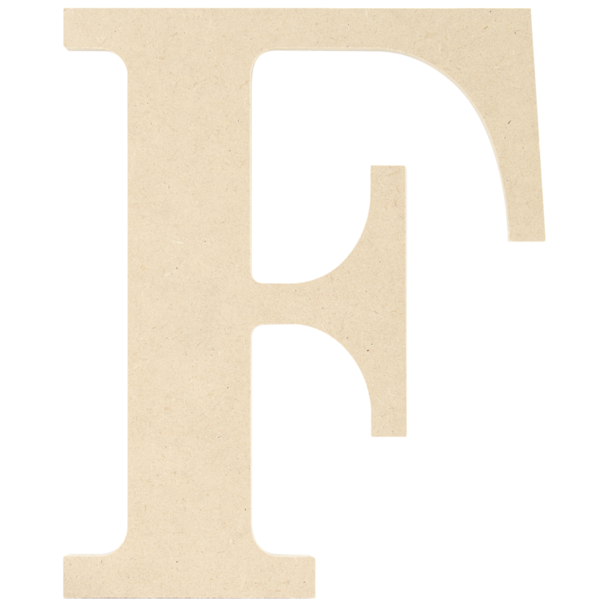 5 inch wooden letters mdf classic font wood letters amp numbers 9 5 inch letter f 18158