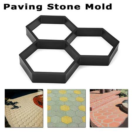 DIY Driveway Paving Stone Mold Concrete Stepping Pathmate