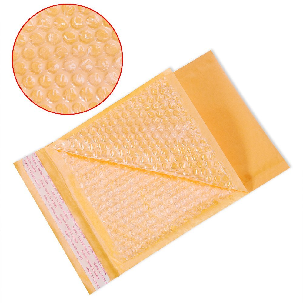 7x12 orange new Lot 10 pouches bags pouches envelopes kraft jewelry gifts..